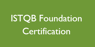 ISTQB Foundation Certification
