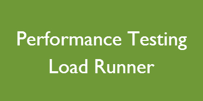 Performance Testing Load Runner